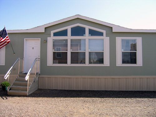 Mobile Home Exterior Paint Before And After Pics