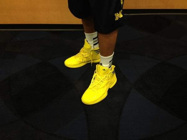 Michigan to wear all-maize jerseys, shoes Tuesday vs. Ohio State   Michigan Wolverines   Detroit Free Press   freep.com