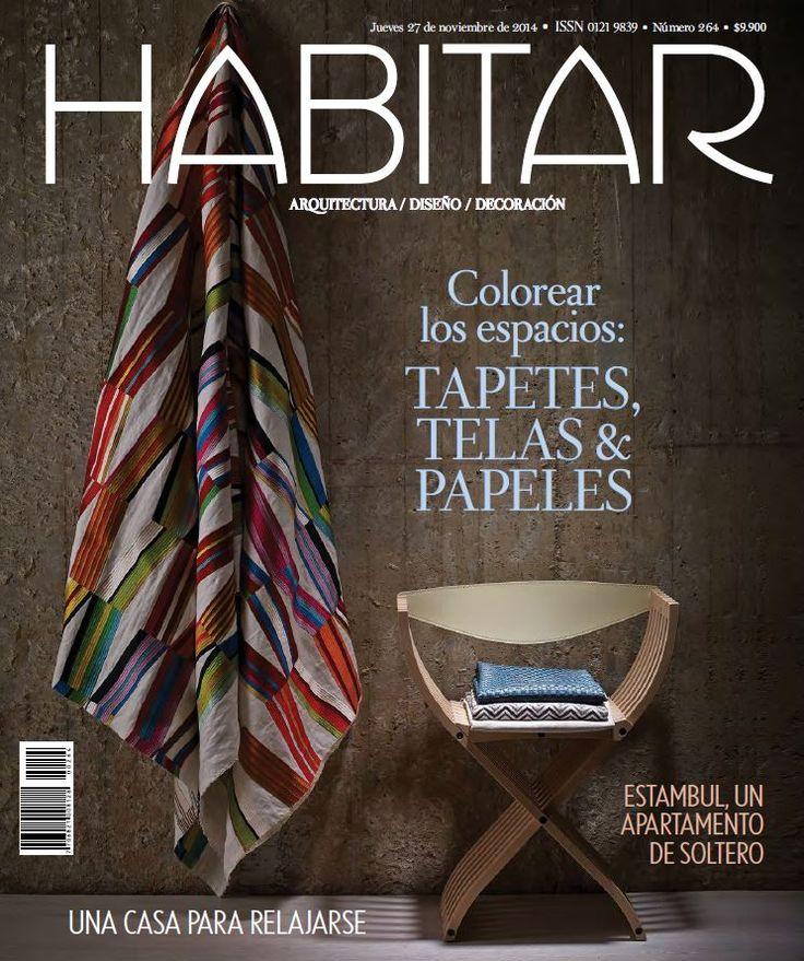 Habitar 264 ESPECIAL Tapetes, telas & papeles