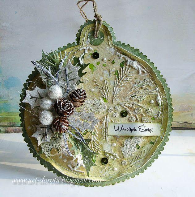 Dorota_mk, Christmas ornament tag