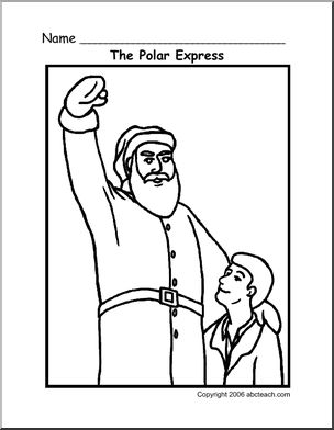 The Polar Express Coloring Pages   Printable Pages (With ...