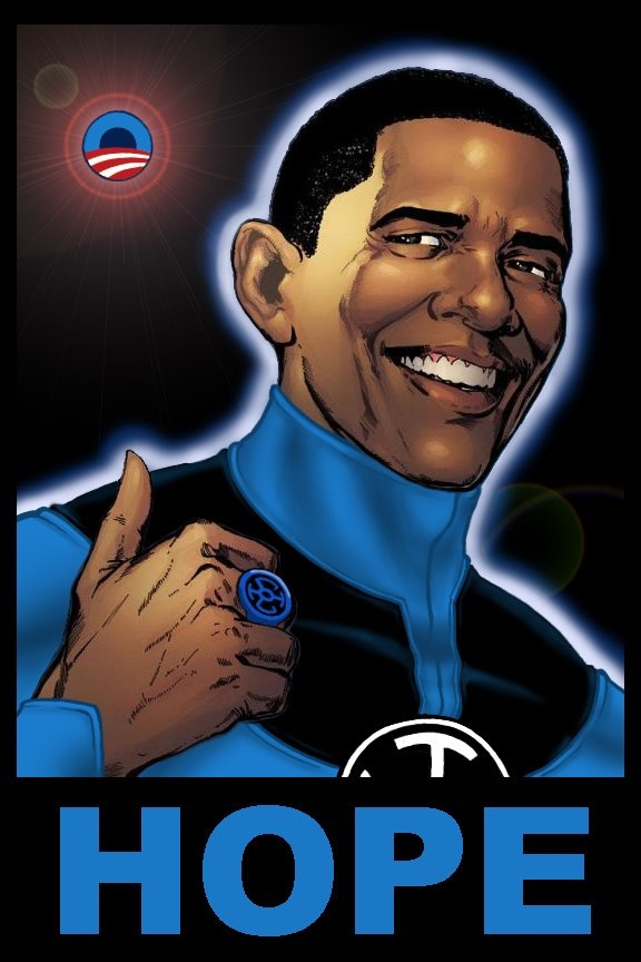 For liberal fans of the Blue Lantern Corps