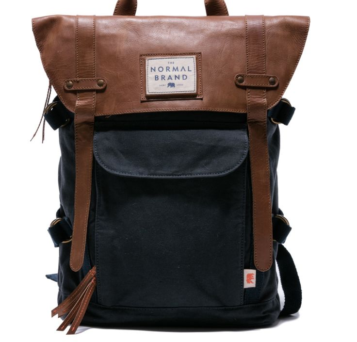 Holiday Gift Guide: Top Side Leather Backpack, Gifts for Men