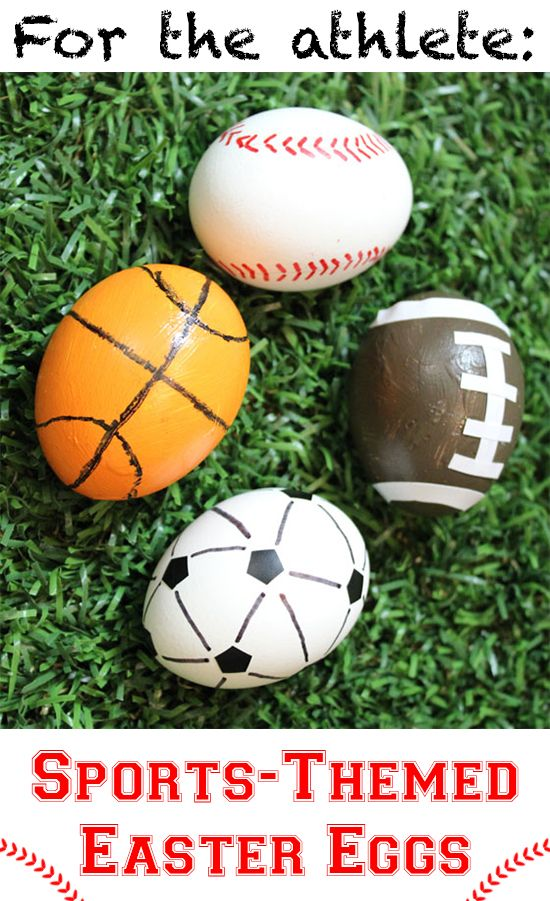 ... Easter: Sporty Egg on Pinterest | Easter Eggs, Super Bowl and Eggs