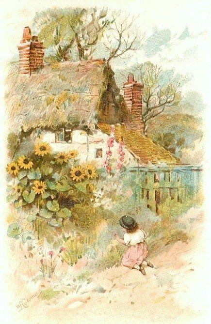 Sunflower Cottage ✿⊱╮