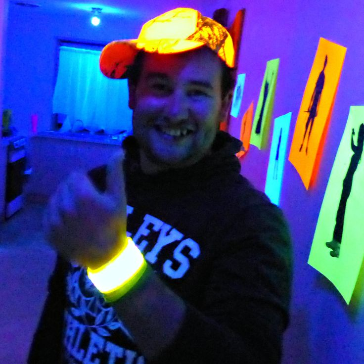 Thumbs up | Black Light Party | Cosmic Events