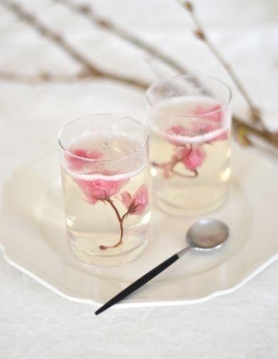 「桜咲く!しゅわしゅわゼリー」はつみ | お菓子・パンのレシピや作り方【corecle*コレクル】