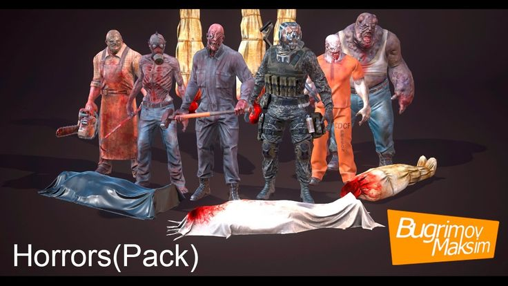Characters Horrorpack
