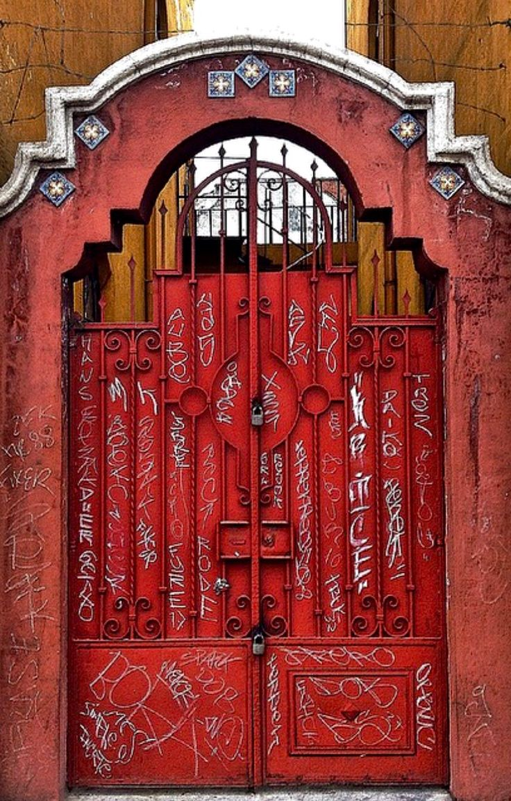 Doors ~ Puebla, Mexico