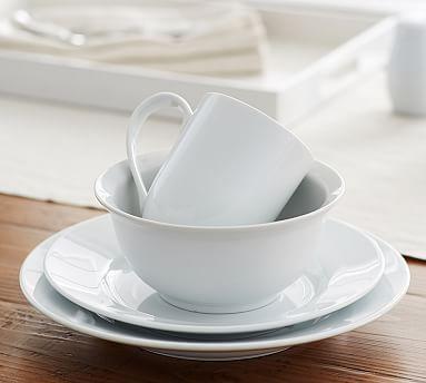 Great White Dinnerware #potterybarn