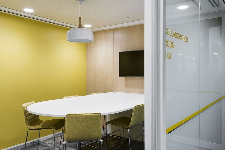 MKDC Workspace Design | Department of Education | Media and Collaboration Room