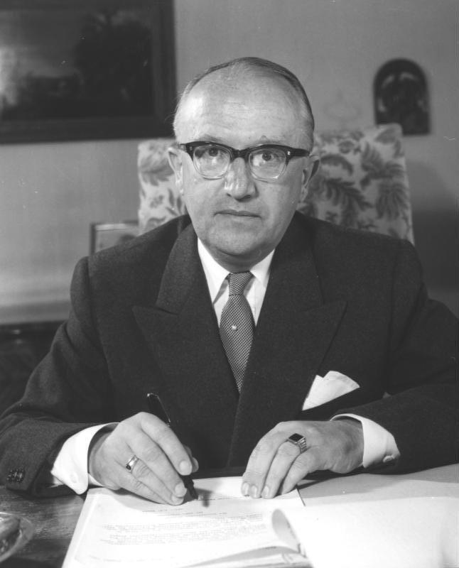 Walter Hallstein:  diplomaţia în sprijinul  integrării europene