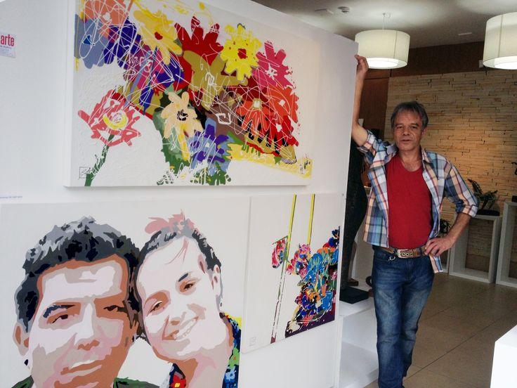 Minhas flores e meus anjos Casa da Cultura  Caxias do Sul - RS