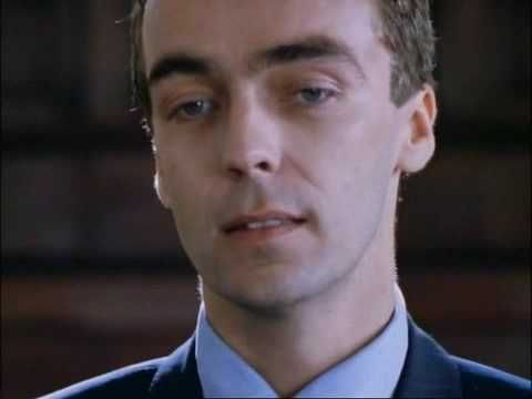 """John Hannah, playing Matthew in """"Four Weddings and a Funeral,"""" reads WH Auden's poem """"Funeral Blues."""""""