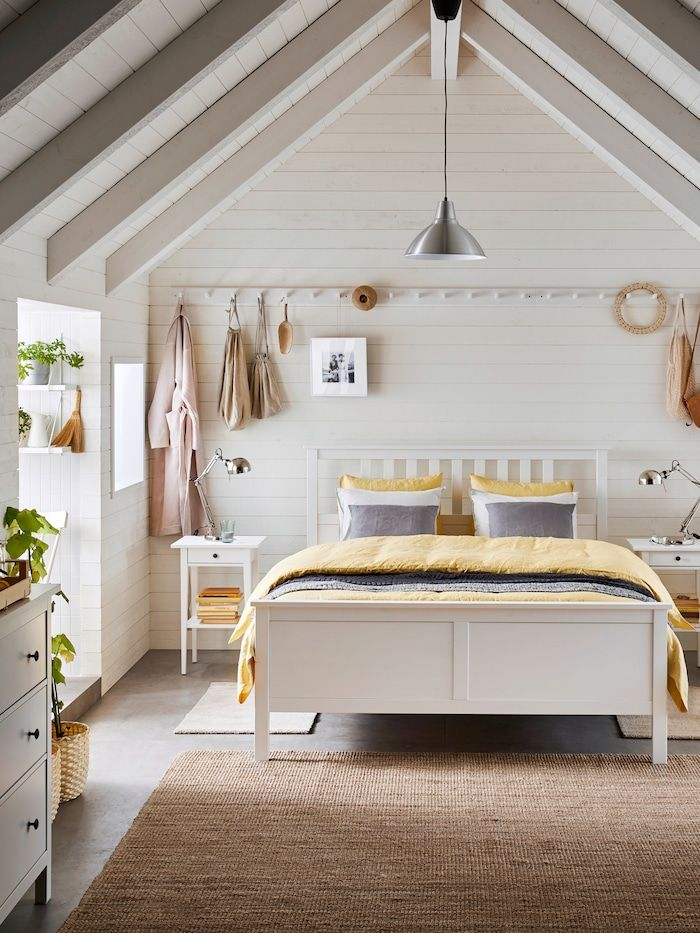 Simple Touches For Slowing Down Ikea In 2020 Ikea Hemnes Bed Hemnes Bed Bed Frame
