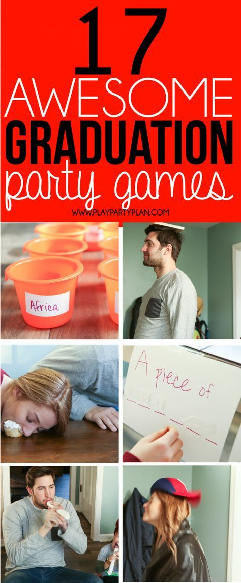 graduation party games for adults