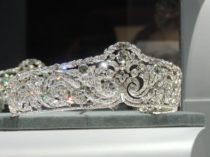 Queen Elisabeth of the Belgians Cartier Bandeau Tiara