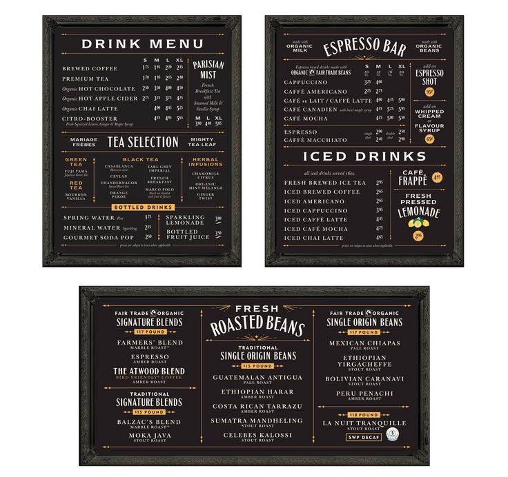 25+ trending Menu board design ideas on Pinterest | Cafe shop ...