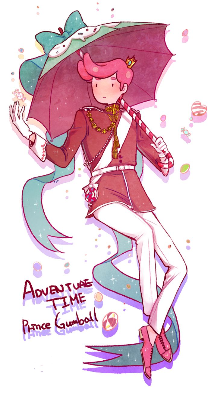 Art by 숨쉬는그려줘봇BD on Twitter — Prince Gumball