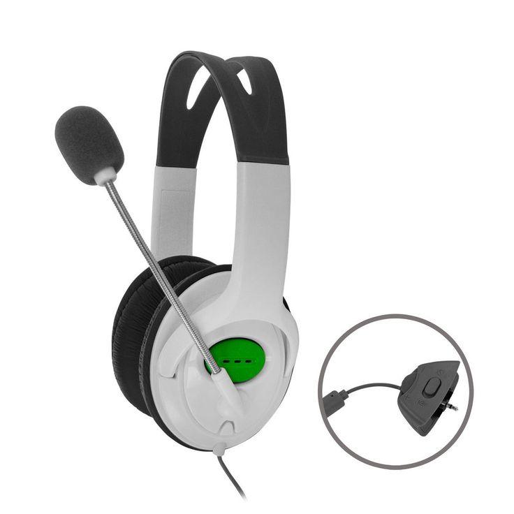 Xbox 360 Premium Gaming Headset / Kopfhörer mit Mikrofon für XBox 360 Neu