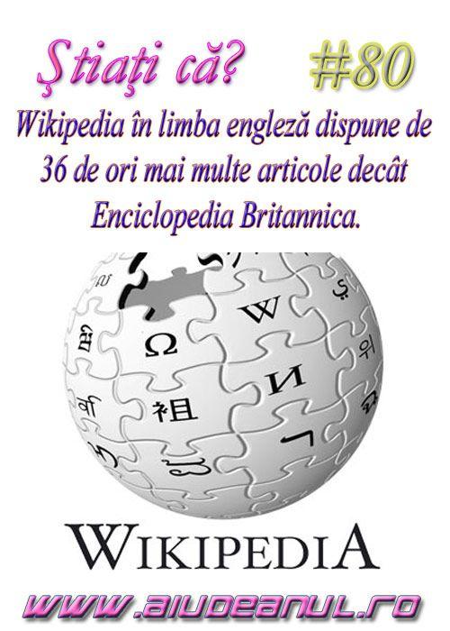 Ştiaţi că? #80 - PORTAL WEB AIUD