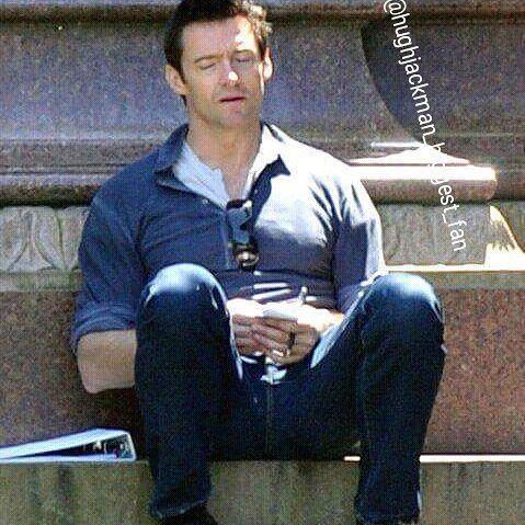 Good sleep sweet Hugh... 😪💤😍😳 #thehughjackman #hughjackman #actor #hollywood #australian #sexiestmanalive #man #musical #dancer #singer #talent #famous #unbeatable #beautiful #goodlooking #handsome #cool #warmhearted #friendly #attractive #fit #sweet