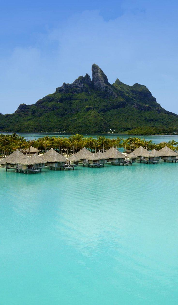 The St. Regis Bora Bora Resort Deluxe Over Water Villas ✯ ωнιмѕу ѕαη∂у