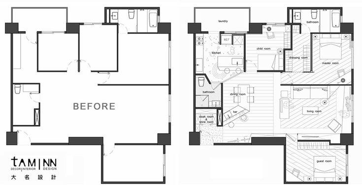 台北 38 坪溫暖感工業風公寓 - DECOmyplace