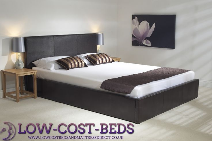 6ft Superking Brown Ottoman Frame - £649.95 - This superb brown ottoman bed in may appear to look similar to other designs out there but is clearly made to a very high standard, it features from a deep padded headboard and foot board and side rails, high quality frame with deep internal storage area with heavy duty fabric finished bottom to keep the storage items away from the floor.