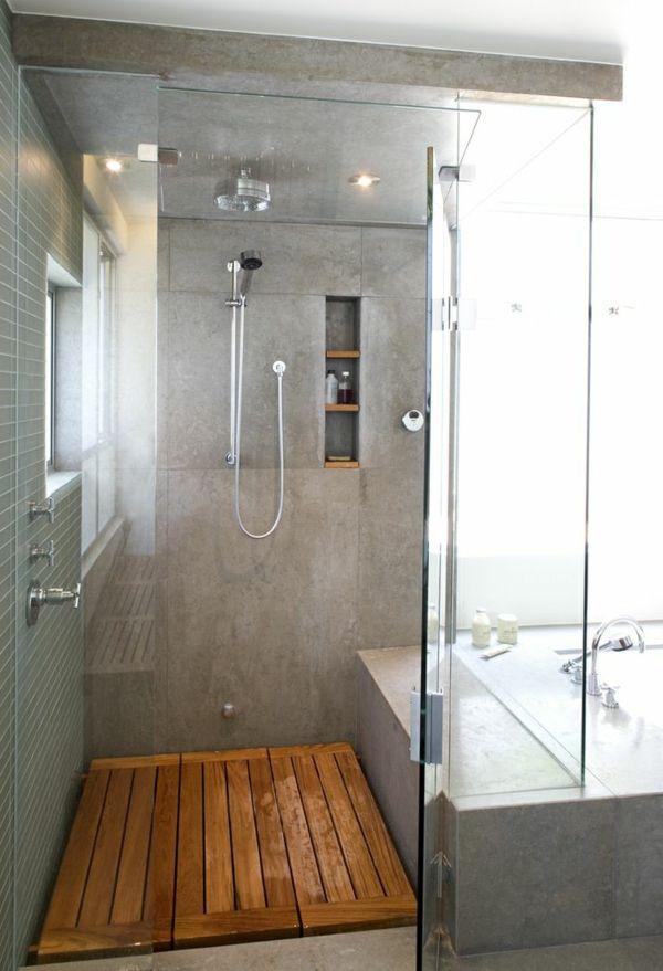 Les 25 meilleures id es concernant receveur de douche sur pinterest receveu - Sortie de douche bois ...