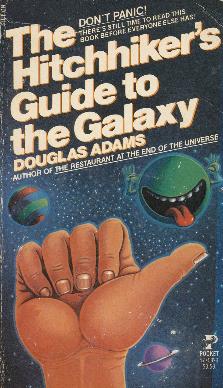 The Hitchhiker's Guide To The Galaxy By Douglas Adams: This Is Your Light  Hearted Guide