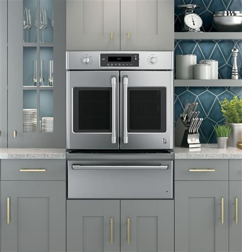 GE Cafe Wall Oven and Warming drawer combo....