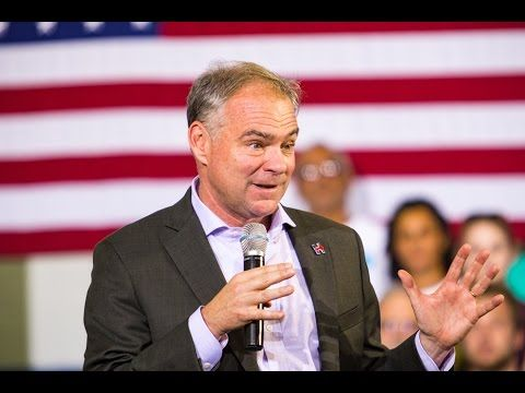 The Democratic Establishment Wants Tim Kaine 2020