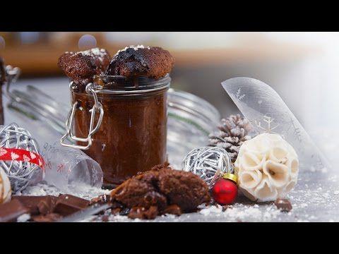 Saftiger Schoko Kuchen im Glas - Klein aber Lecker