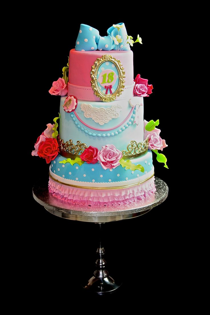 170 best cakes 18th birthday images on pinterest cake for 18th birthday cake decoration