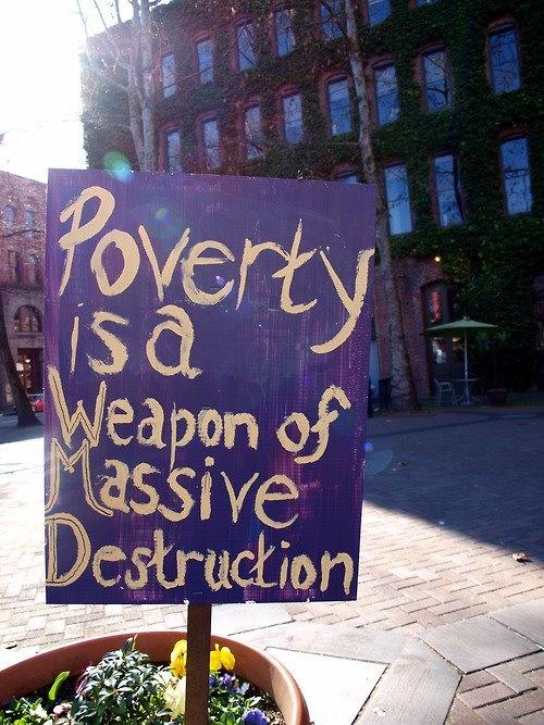 poverty: