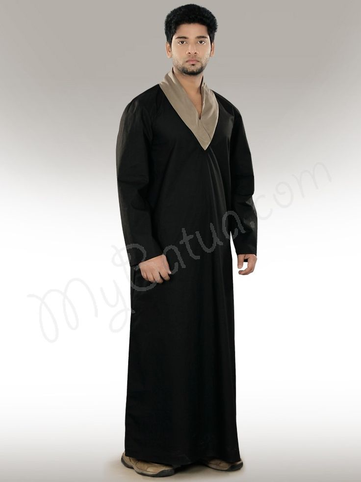 Afzal Black Galabiyya,Poplin, Formal Wear,Black,  XS, S, M, L, XL, XXL, 2XL, 3XL, 4XL, 5XL, 6XL, 7XL,  Thobes, Dishdashas