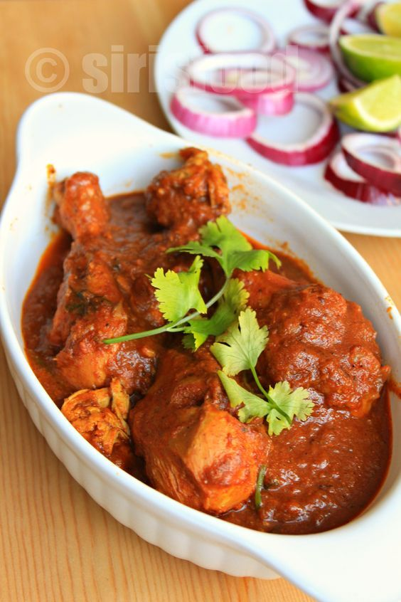 Kolhapuri Chicken curry - authentic Indian Chicken curry