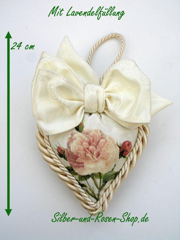 Luxus Duftherz Rosa Centifolia XL zum Bestellen