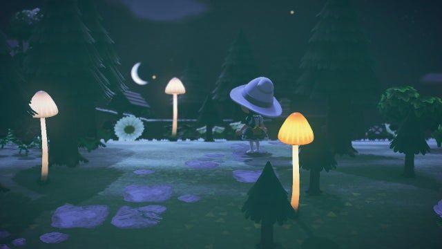 Finally Got My Hands On Some Mush Lamps Ac Newhorizons Animal Crossing Animal Crossing Qr Animals