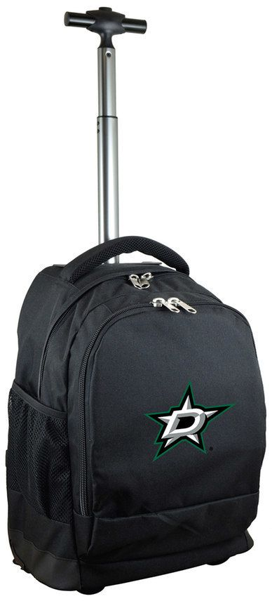 NHL Dallas Stars Premium Wheeled Backpack