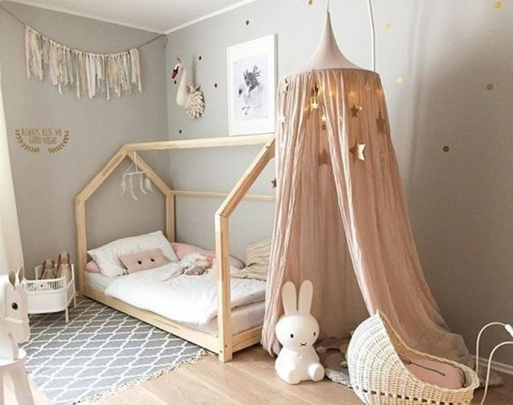 how to make a kids bed canopy