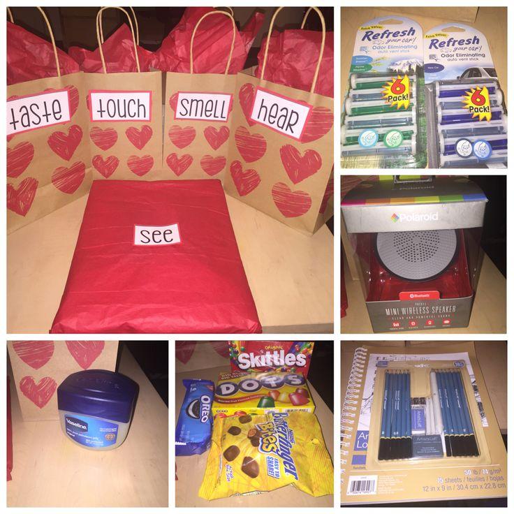 5 Senses Gift Love Day Ideas Pinterest Gift