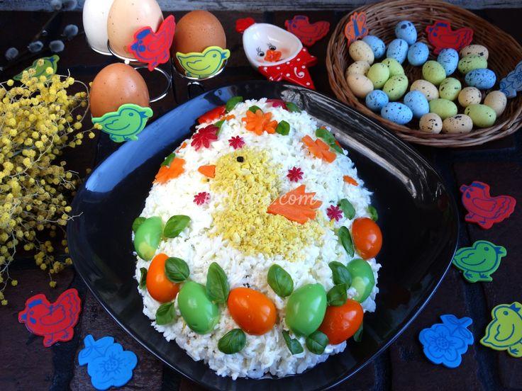 Салат Пасхальное яичко: рецепт с пошаговым фото