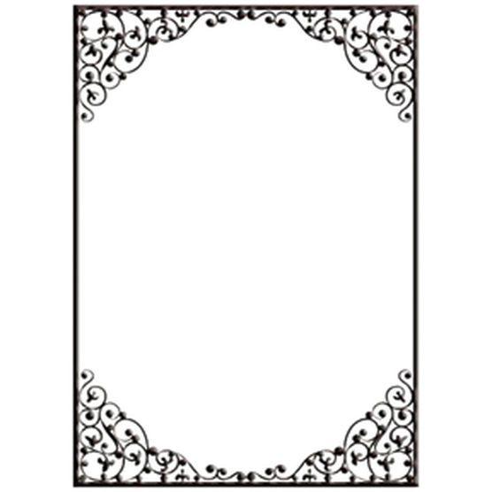Crafts-Too Embossing Folder Dainty Frame
