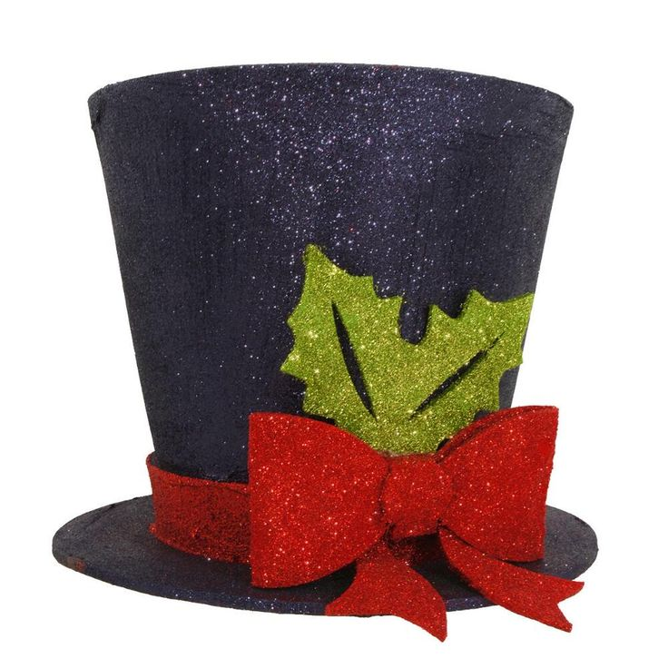22 best Unique Lighted Top Hat Christmas Tree Toppers images on ...