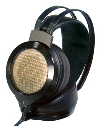 STAX SR-007 OMEGA II MK2 OPEN BACK HEADPHONES (BLACK) The STAX SR-007 Omega II Mk2 Open-Back Headphones now feature Sheep-Skin Earpads and a Real-Leather Headband for added comfort! The Earpads have a new contoured shape for better sound. The SR-007 Omega II Mk2 Open-Back Headphones also feature improved wiring for a better, more solid connection!