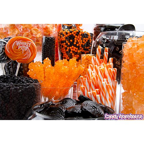 Halloween Candy Buffet(orange,black)   Photo Gallery   CandyWarehouse.com Online Candy Store