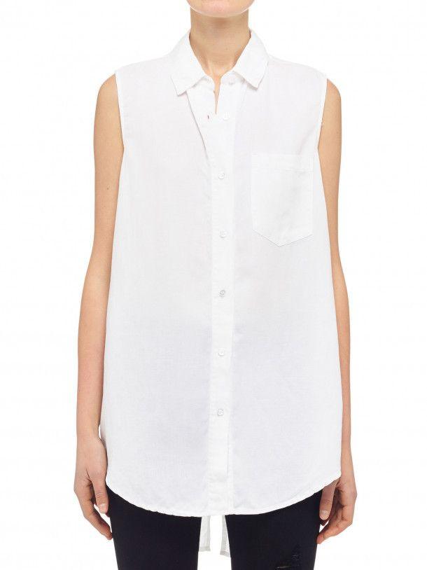 Nobody Denim - Nobody Split Sleevless Shirt