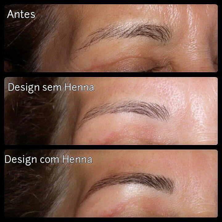 Design com aplicação de Henna